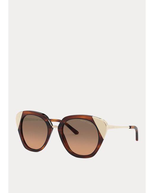 Gafas De Sol De Ojos De Gato Ralph Lauren de color Brown