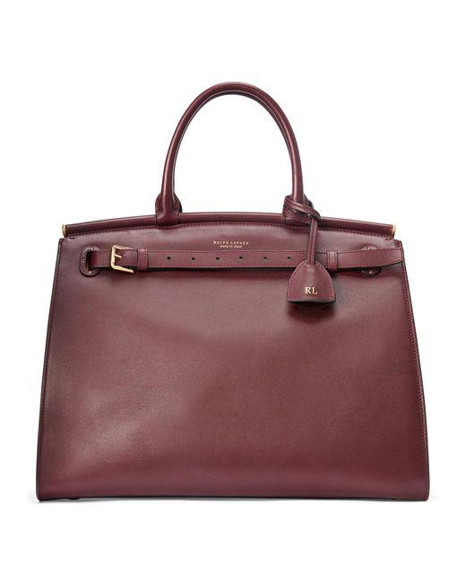Ralph Lauren Multicolor Calfskin Large Rl50 Handbag