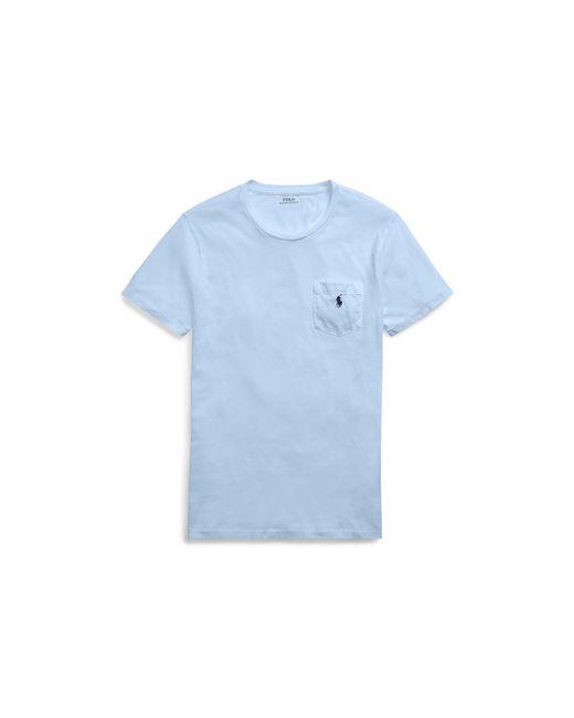 lyst polo ralph lauren custom slim fit cotton t shirt in