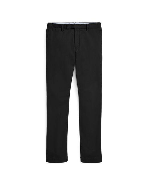 Polo Ralph Lauren - Black Stretch Slim Fit Chino for Men - Lyst