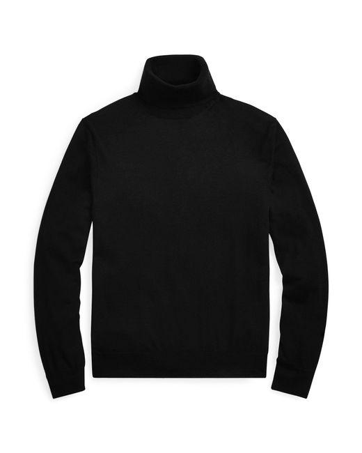 Pull à col roulé en cachemire Ralph Lauren Purple Label pour homme en coloris Black