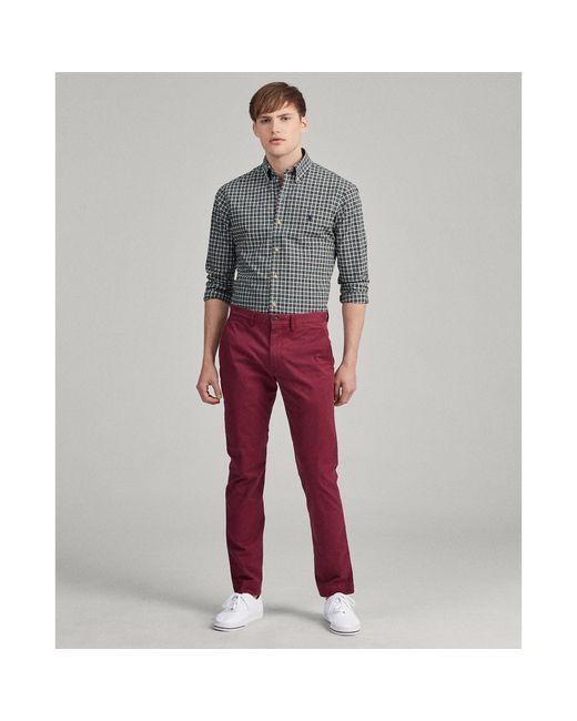 Polo Ralph Lauren Multicolor Classic Fit Plaid Poplin Shirt for men