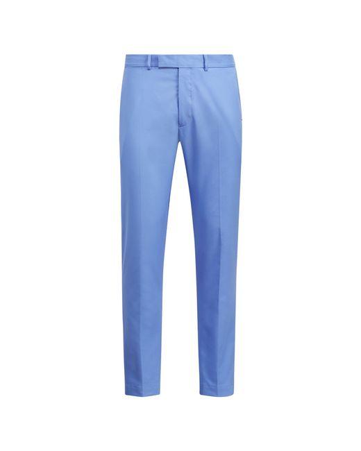 Ralph Lauren - Blue Classic Fit Stretch Twill Pant for Men - Lyst