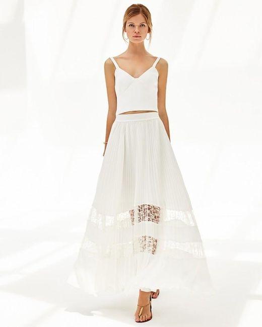 Ramy Brook | White Rosie Skirt | Lyst