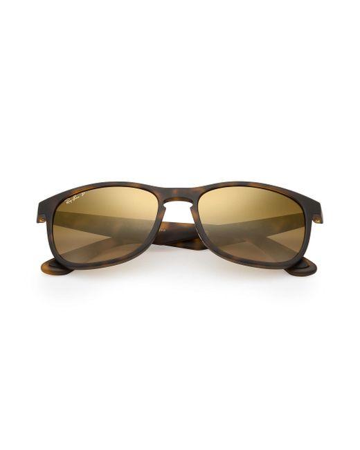 ec0879c32a1 Ray Ban Chromance Nylon Frame Blue Lens Sunglasses Rb4263
