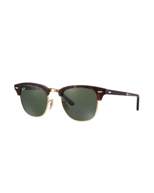 Ray-Ban - Green Clubmaster Folding - Lyst