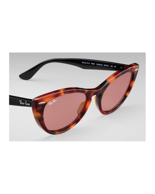 9179090a56 ... Ray-Ban - Red Nina - Lyst ...