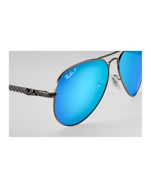 3918a1bc1fc ... Ray-Ban - Blue Rb8317 Chromance for Men - Lyst ...