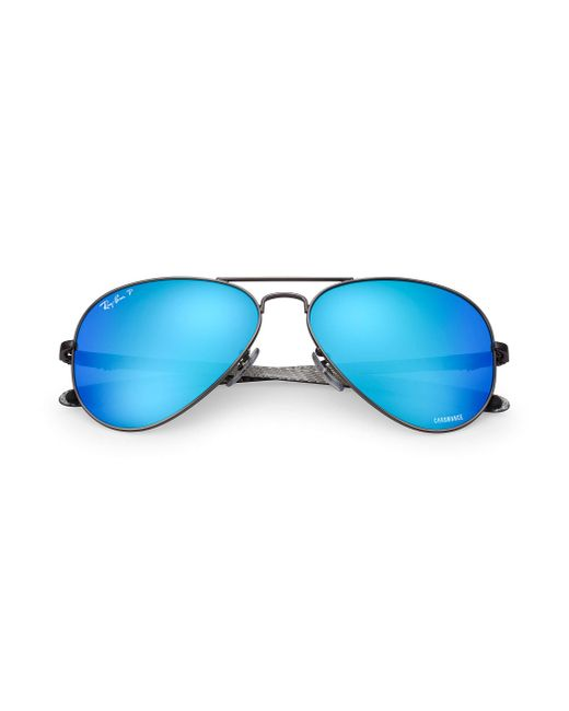 c56cd915b3 ... Ray-Ban - Blue Rb8317 Chromance for Men - Lyst ...
