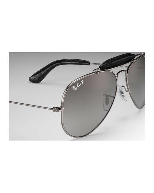 557b10a836f ... Ray-Ban - Gray Outdoorsman Craft At Collection for Men - Lyst ...