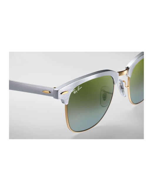 493cfccf17 ... discount code for ray ban multicolor clubmaster aluminum flash lenses  gradient lyst e0356 ec853