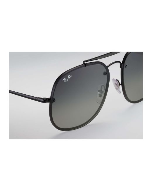 6fca140d322 ... Ray-Ban - Gray Blaze General for Men - Lyst ...