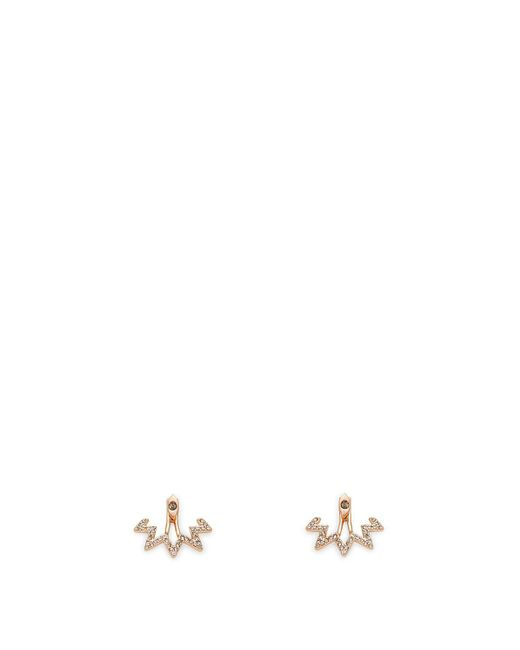 Rebecca Minkoff | Multicolor Stargazing Front Back Earring | Lyst
