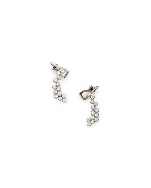 Rebecca Minkoff | Metallic Crystal Climber Earring | Lyst