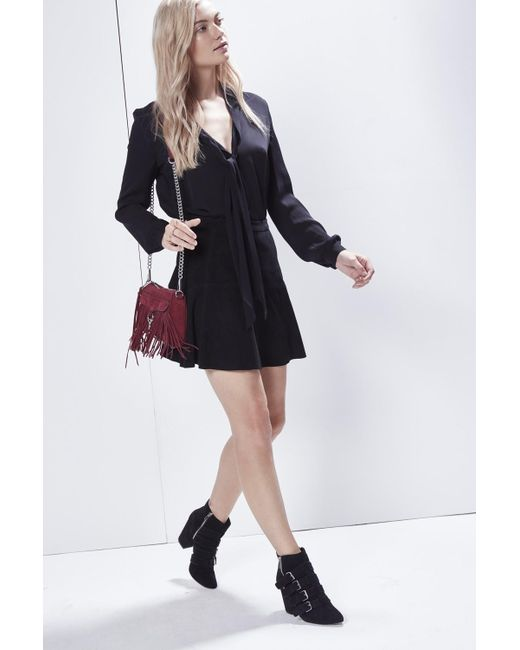 Rebecca Minkoff | Black Ibiza Skirt | Lyst