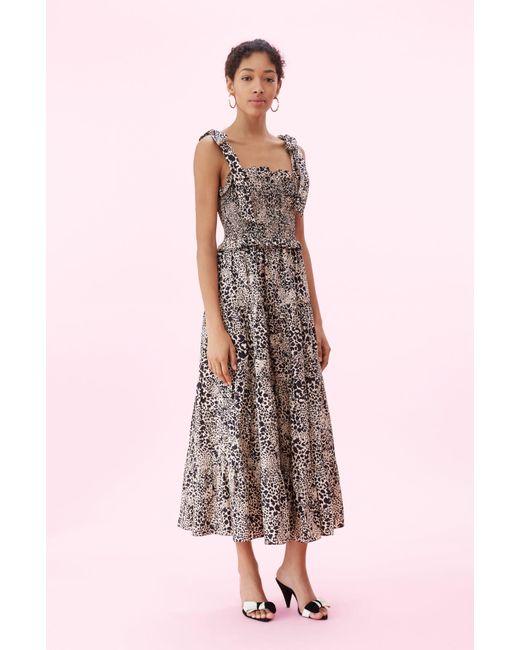 c0f5823068a3 Rebecca Taylor Short Sleeve Leopard Dress - Save 0.25706940874036377 ...