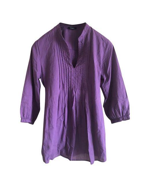 MAX&Co. Purple Strick