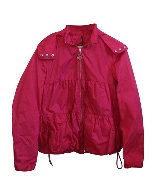 Moncler Pink Jacke