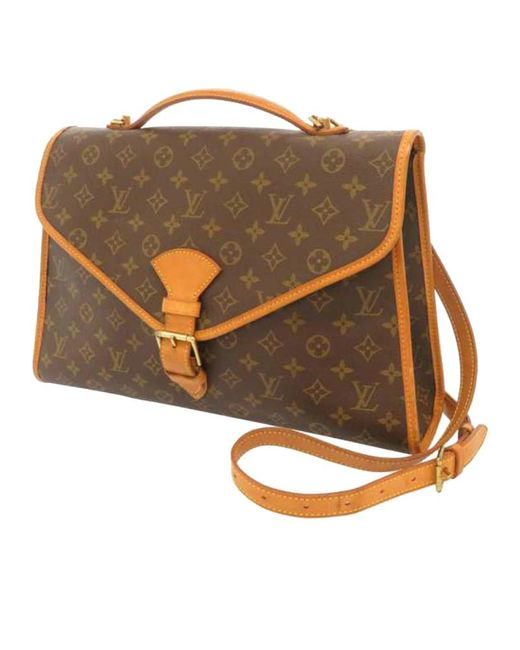 Louis Vuitton Brown Beverly aus Canvas
