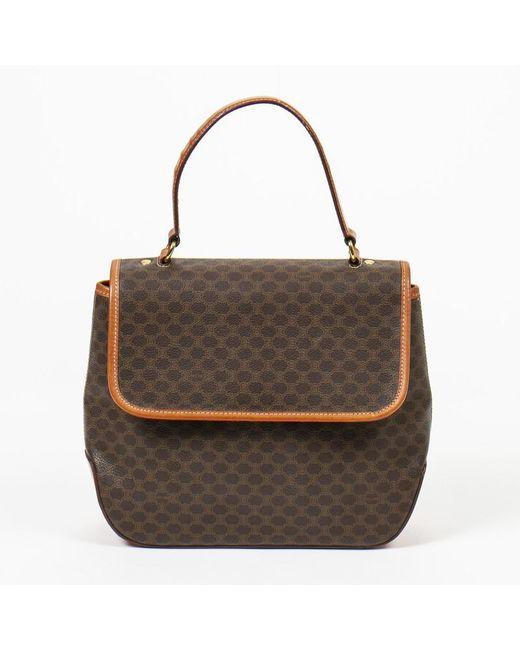 Céline Brown Handtasche aus Canvas