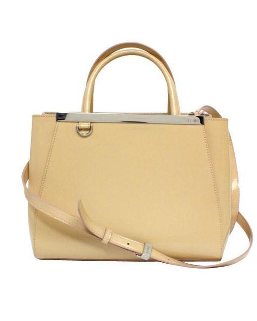 Fendi Natural Pee Toe Jules 8bh 253 Handbags Shoulder Bags