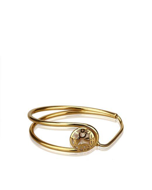 Louis Vuitton - Metallic Gold-tone Bracelet - Lyst