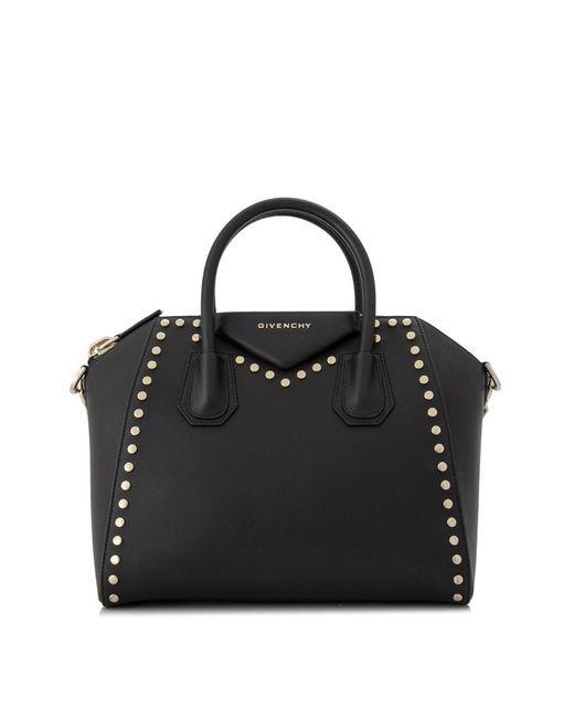 Givenchy Black Pre-owned Small Antigona