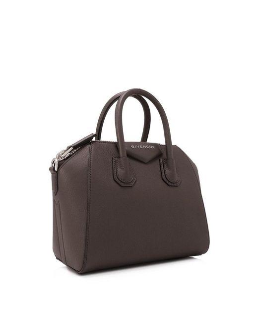 ... Givenchy - Gray Antigona Bag - Lyst ... 164d7cc2088c0