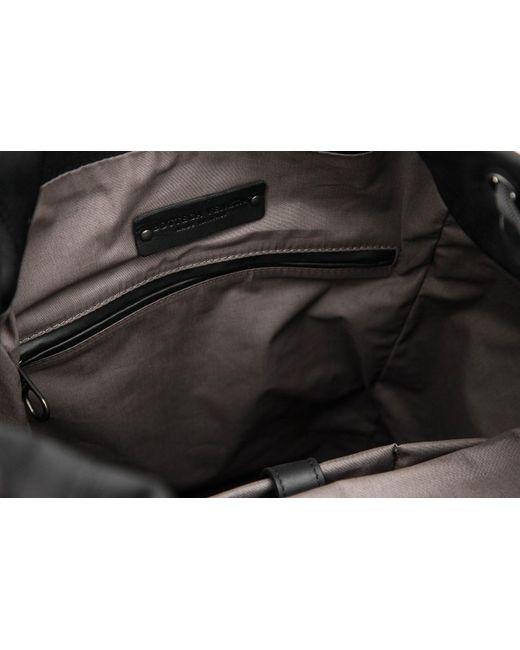 ... Bottega Veneta - Black Hi-tech Canvas Sassolungo Backpack for Men -  Lyst ... 601fa853dd2e1
