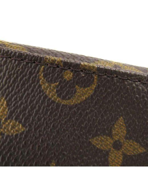 fbaa0a8e39b0e ... Louis Vuitton - Brown Authentic Mini Looping Flap Shoulder Bag Monogram  Canvas M51147 - Lyst