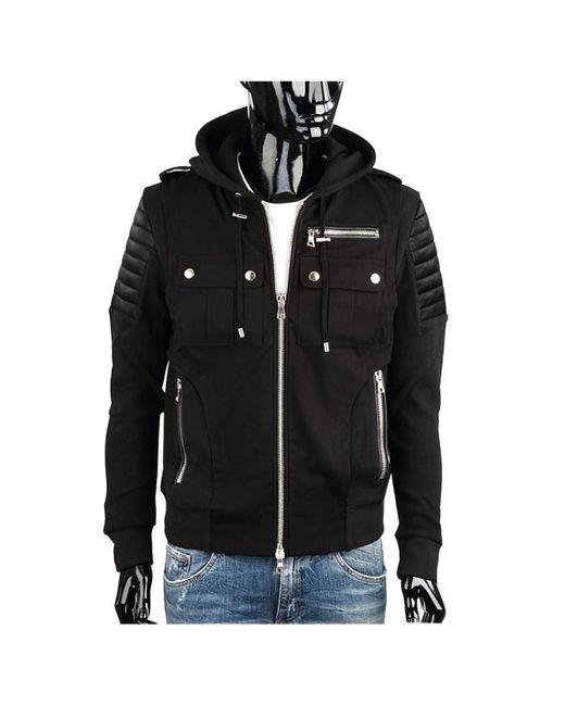 Balmain - Black Tee/hoodie/sweatshirt for Men - Lyst