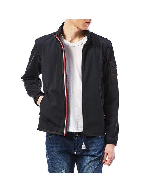 Moncler Black Men's Technical Hood Jacket for men