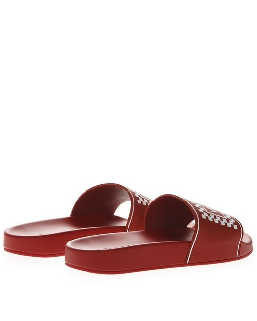 87e13f95e98a0 ... Versace - Sandals Red white for Men - Lyst ...
