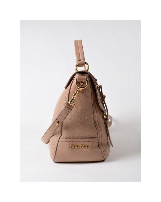 ... Miu Miu - Pink Shoulder Bags 770 Cammeo - Lyst ... 201baae687632