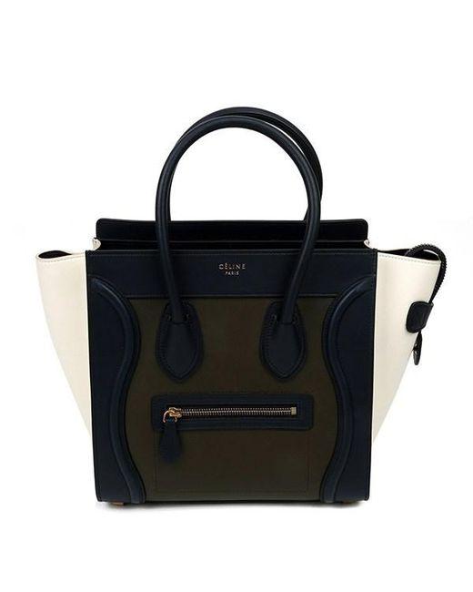 Céline - Black Micro Luggage - Lyst ... 957d39a9c4dd6