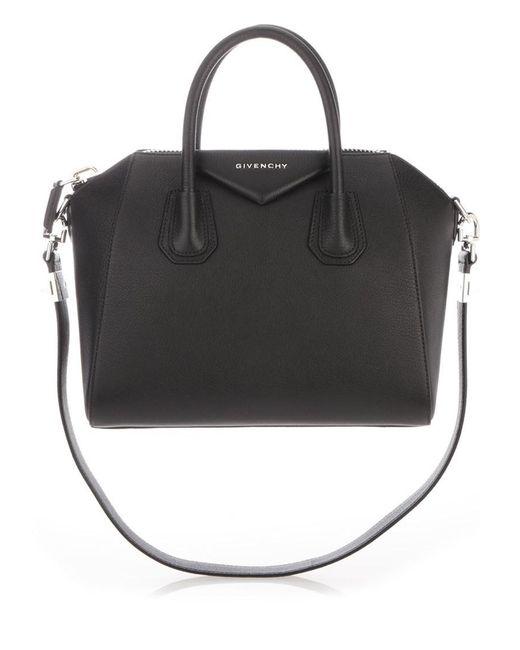 33707bee564e Givenchy - Black Bags Ss18 Borsa A Mano Antigona Small - Lyst ...