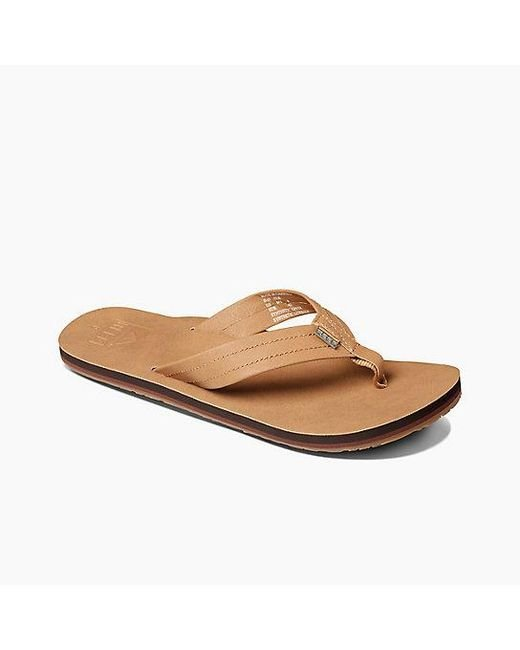a8241a4ec8f4 Lyst - Reef Crew Sl in Brown for Men - Save 29%