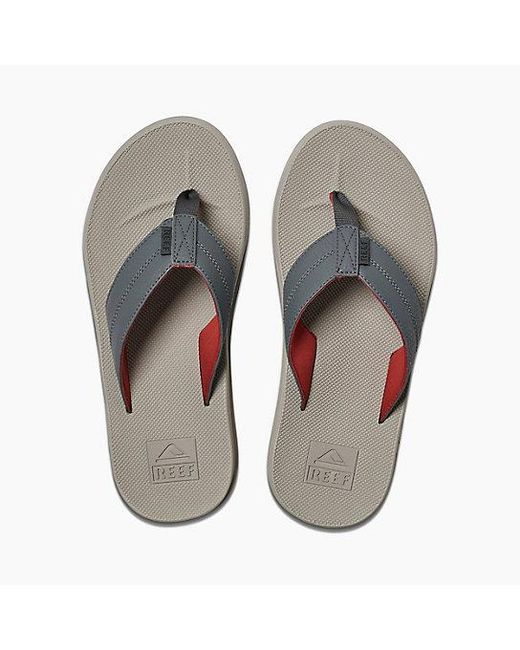 bee2f3a164e3 Reef - Gray Element Tqt for Men - Lyst ...