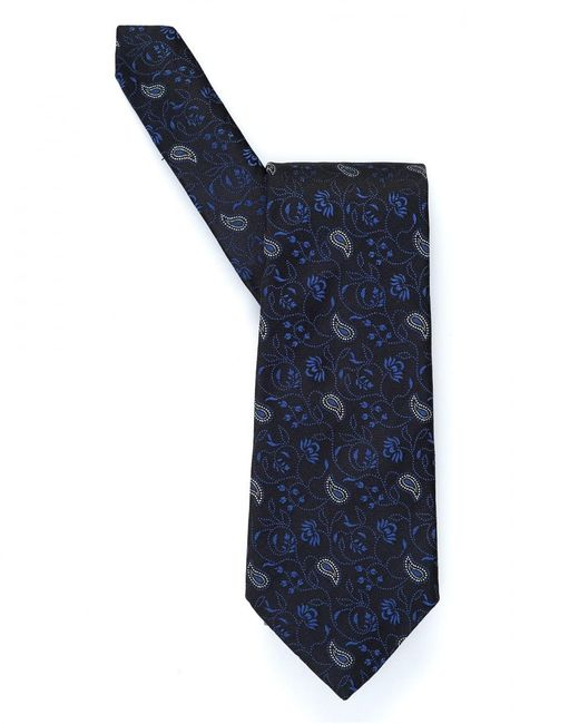 Etro - Blue Small Floral Paisley Print Tie for Men - Lyst