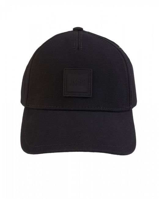 749546c6b34f07 Lyst - BOSS Fargo Black Adjustable Cap in Black for Men