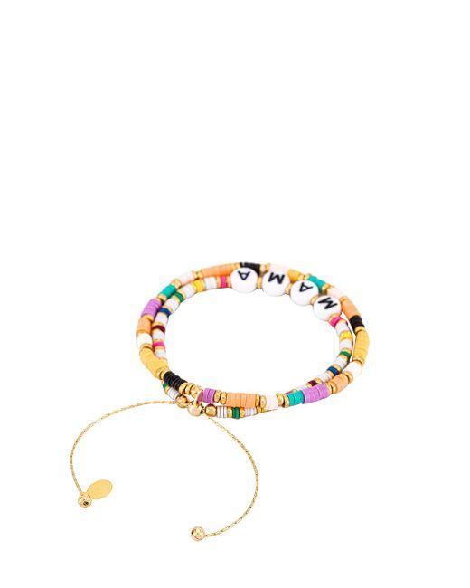 Shashi Mama ブレスレットセット Multicolor