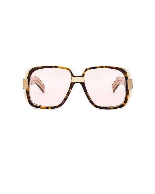 Gucci - Multicolor Oversize Square Acetate In Brown. - Lyst