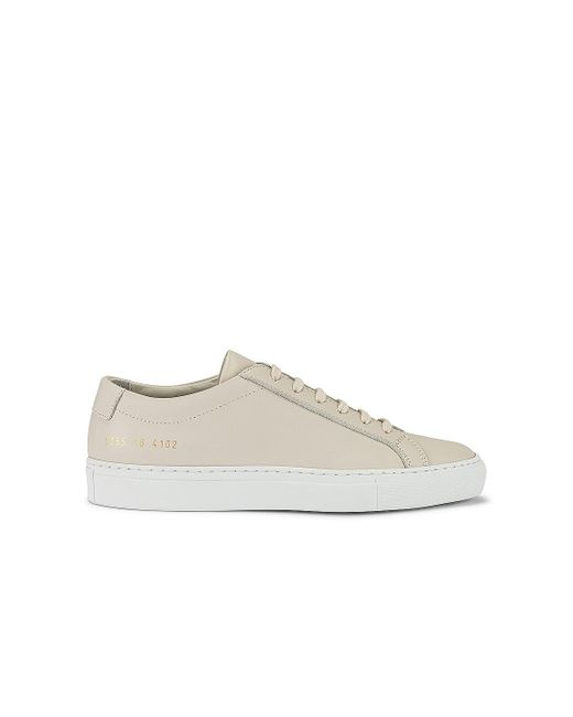 Common Projects Achilles White Sole Ss21 スニーカー