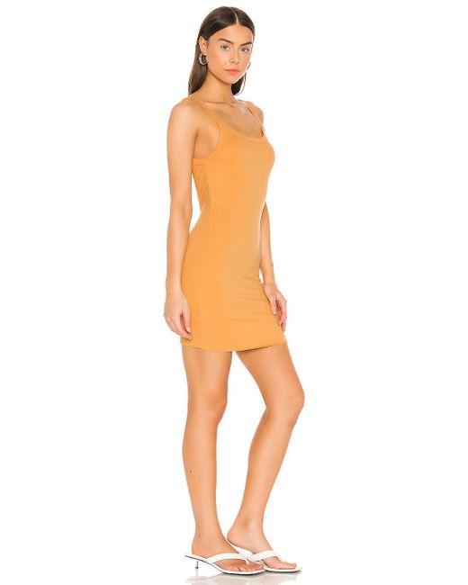 Cotton Citizen Verona タンクドレス Orange