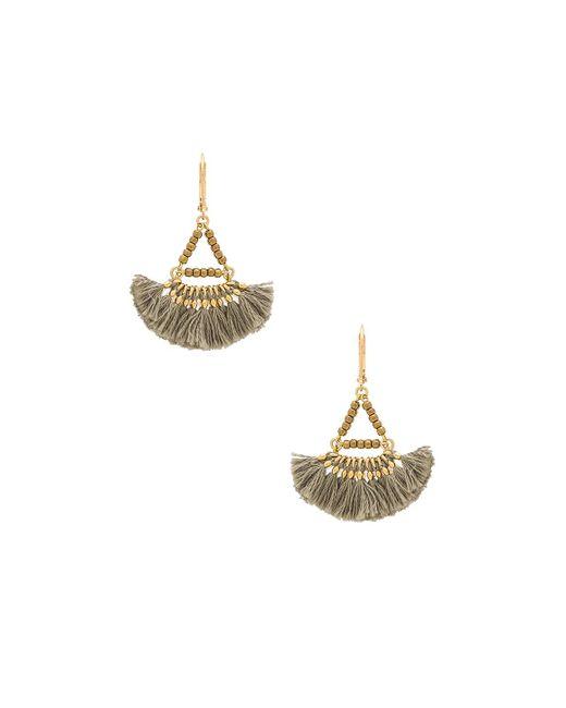 Shashi | Metallic Lilu Earring | Lyst