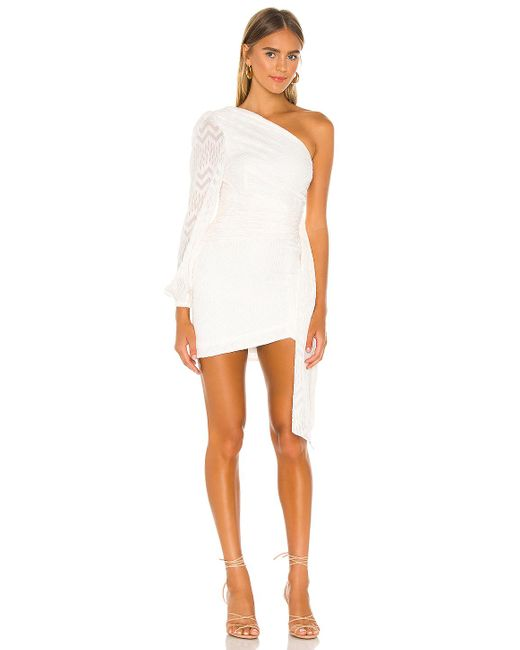 Nbd White Lisa Mini Dress