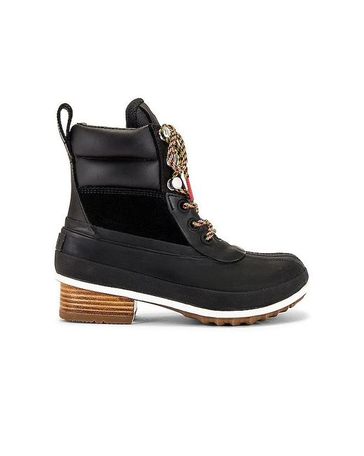 Sorel Black Slimpack Iii Hiker Bootie