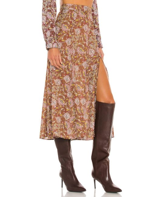 RESA Brown Skatie Skirt