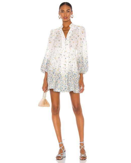 Zimmermann Carnaby ドレス White