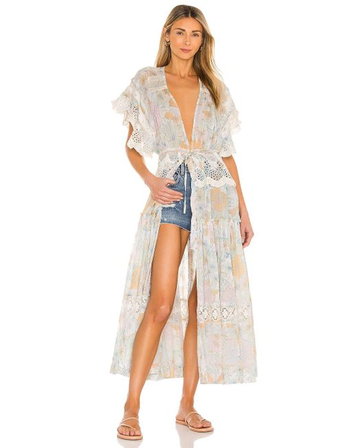 Free People Field Of Dreams マキシトップ White